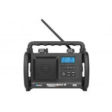 ROCKBOX 2 ZWART DAB+ - FM RDS - BLUETOOTH - AUX-IN
