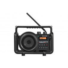 DAB+BOX 2 ANTRACIET DAB+ - FM RDS - BLUETOOTH - AUX-IN - OPLAADBAAR (I