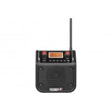 MYBOX 2 ZWART FM RDS - AUX-IN